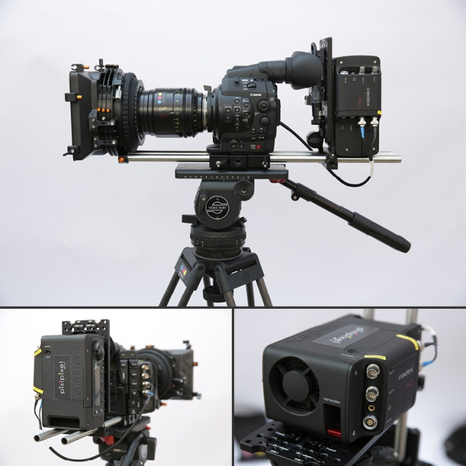 Canon C500 with Codex S Recorder
