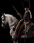 Officer, chasseurs à cheval de la garde impériale, France